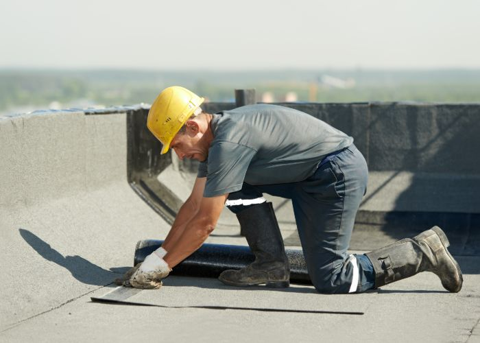 commercial rubber roofing contractor overland park